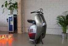 Электрический моноцикл Monowheel Z-One получил дизайн скутера Vespa