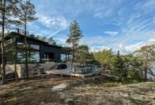 Финский эко-дом из «несадящегося» бруса обогревается геотермальной энергией