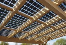 «Солнечное стекло» от Aleo Solar - эстетичное решение для навесов, фасадов и окон
