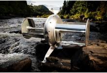 Переносной речной гидрогенератор снабдит энергией весь дом (видео)