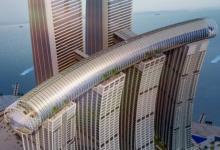 В Китае строят гигантский небоскреб с «горизонтальной башней»