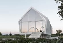 Автономный экодом Casa Nell`Orto «парит» над огородными грядками