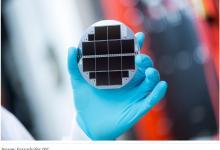 Новый солнечный элемент для выработки водорода получил рекордную эффективность