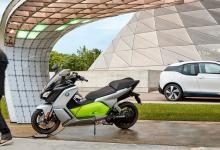 Электромопед BMW C Evolution получит крышу и защиту для пассажира