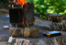 Переносную печь-зарядку для мобильных устройств разработали в Уфе (видео)