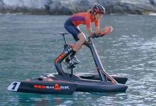 Создан педальный тримаран для велосипедистов, покоряющих водную стихию