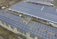 Крупнейшая в Украине крышная солнечная электростанция открыта на Львовщине