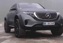 Электрокроссовер Mercedes-Benz EQC превратили в суровый внедорожник