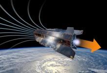 Новый ионный двигатель ESA работает на воздухе