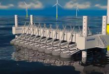 В Дании построили инновационную волновую электростанцию Wavestar (видео)