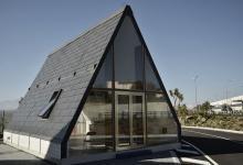 Итальянский модульный дом собирается за шесть часов и складывается в случае землетрясения (видео)