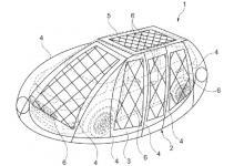 Надувной солнечный купол для зарядки электромобилей на парковке запатентовал Ford