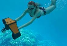 Подводный скутер Trident - новый гаджет для отдыха и развлечений (видео)