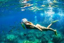 Баллончик для дайвинга накачивается насосом и позволяет дышать под водой 10 минут (видео)