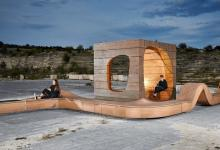 Уличная мебель с солнечными батареями от дизайнеров Hello Wood удивила своей креативностью (видео)