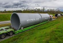 Hyperloop Transportation Technologies начала строительство своего трека в Франции