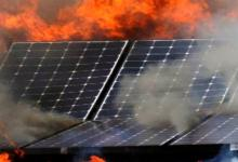 Насколько пожаробезопасны солнечные батареи на крыше дома