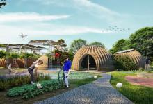 TECLA - глиняный дом, созданный на 3D-принтере по принципу осиного гнезда