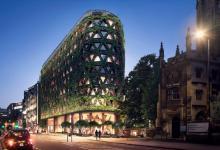 Целое здание Лондона превратят в гигантскую зеленую стену из 400 000 растений