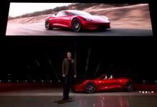 Маск: Tesla Rodster получит режим «SpaceX» и сможет «летать» за счет ракетных технологий