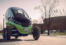 Triggo: легкий городской электромобиль, способный менять ширину (видео)
