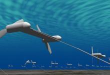 Toshiba построит подводные кайты - турбины для сбора энергии океанских течений и приливов
