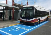 Беспроводная зарядка для электробусов мощностью 200 кВт открыта в США