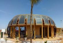 Конопля и солнечная энергия - в Марроко представили экодом SUNIMPLANT