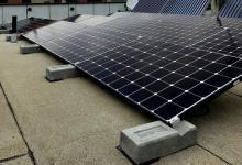 Новая балластная система креплений солнечных панелей экономит 70% времени монтажа