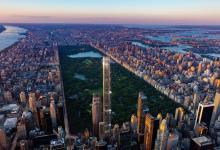 Самый высокий жилой небоскреб Central Park Tower строится в Нью-Йорке