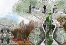 Дом, который сам себя распечатает на 3D принтере и вырастит еду для своих жильцов