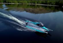 Электрическая лодка Jaguar поставила новый рекорд скорости на воде (видео)