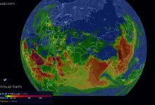 Создана интерактивная 3D карта загрязнения воздуха Земли