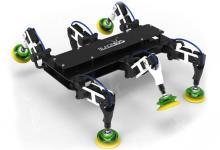 Для техосмотра ветрогенераторов создан шестиногий робот Bladebug