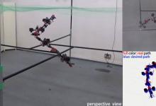Видео: создан дрон-трасформер, меняющий форму налету