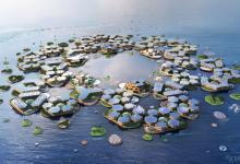 Плавучий город BIG Oceanix City на 10 000 человек, по мнению ООН, поможет решить проблемы изменения климата
