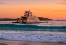 Пневматический волновой электрогенератор UniWave200 запустили в Австралии