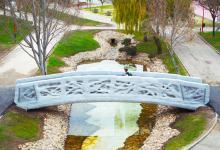 Впервые в мире 3D-печатный мост открыт для общего пользования в Испании