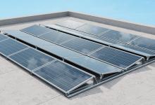 Новая универсальная система монтажа солнечных батарей на плоских крышах IBC AeroFix G3