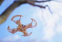 Делаем квадрокоптер своими руками из деревянных деталей: проект Aerowood вышел на Indiegogo (видео)