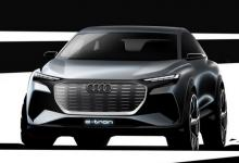 Электромобиль Audi Q4 e-tron: представлены первые фото компактного кроссовера