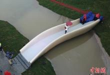Самый длинный пластиковый мост, распечатанный на 3D-принтере, открыт в Шанхае