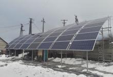 Первую в Украине «сферическую» солнечную электростанцию запустили под Киевом