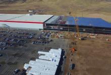 Новое видео строительства Tesla Gigafactory - высотная съемка дроном в 4K качестве