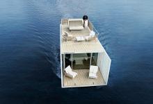 «Умный» дом на воде поможет уплыть от серых будней (видео)