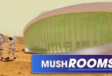 Дома на Марсе и Луне будут выращиваться из грибов - новый проект NASA (видео)