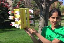 13-летняя девочка создала пьезоэлектрический ветрогенератор за $5