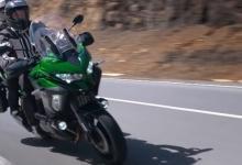 Гибридный мотоцикл Kawasaki показали на видео