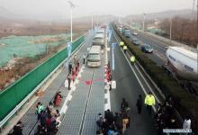 В Китае украли часть «солнечной» дороги в погоне за технологиями