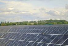 На Днепропетровщине открыли солнечную ферму, обеспечивающую энергией 1000 домов